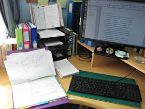 AWaines desk