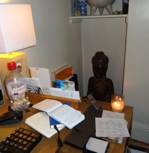 LF First drafting & writing den buddha