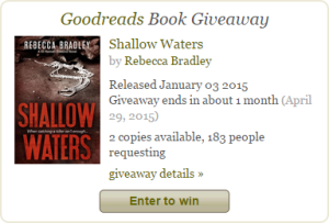 Goodreads - Book giveaway for Shallow Waters (DI Hannah Robbins #1) by Rebecca Bradley Mar 18-Apr 29, 2015(showing 1-30 of 183) entries.clipular